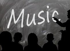Music greyscale