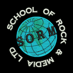 School of Rock and Media logo